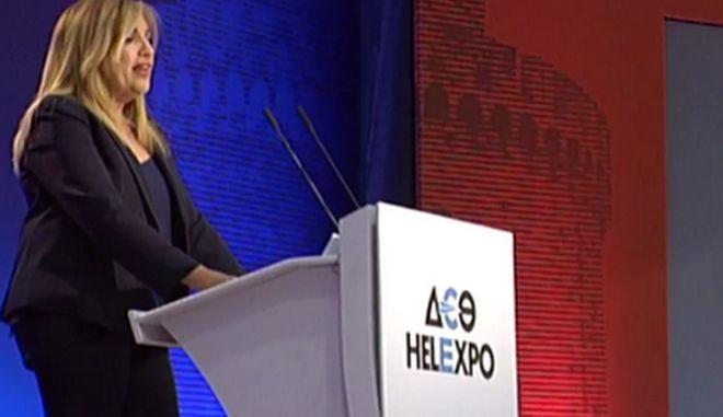 Γεννηματά από ΔΕΘ: Οι επόμενες εκλογές θα είναι αναμέτρηση για τρεις