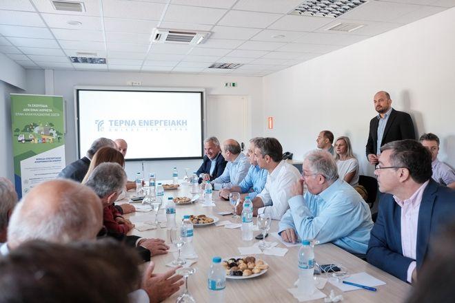 Επίσκεψη του Πρωθυπουργού Κ. Μητσοτάκη στην Ήπειρο.