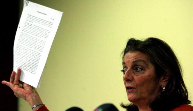Συνέντευξη τυπου της προέδρου του ΟΚΑΝΑ Μένης Μαλιώρη,απάντηση σε όσα καταλογίζονται εις βάρος του ΟΚΑΝΑ από την υφυπουργό Υγείας Ζέττα Μακρή,Τρίτη 17 Δεκεμβρίου 2013 (EUROKINISSI-ΤΑΤΙΑΝΑ ΜΠΟΛΑΡΗ)