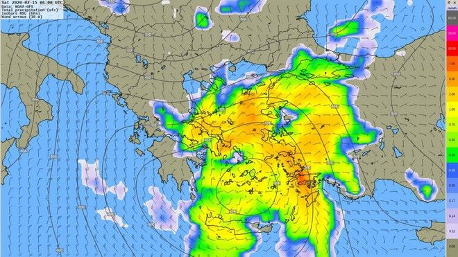 Καιρός: Απότομη αλλαγή με βροχές και καταιγίδες