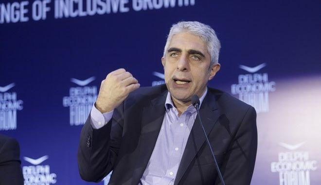 Ο Γιώργος Τσίπρας, μέλος της ΚΠΕ του ΣΥΡΙΖΑ και διευθυντής του οικονομικού γραφείου του πρωθυπουργού
