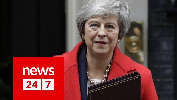 Μέι: Υπάρχουν τρεις επιλογές - Η δική μου συμφωνία, καμία συμφωνία ή καθόλου Brexit - Κόσμος   News 24/7