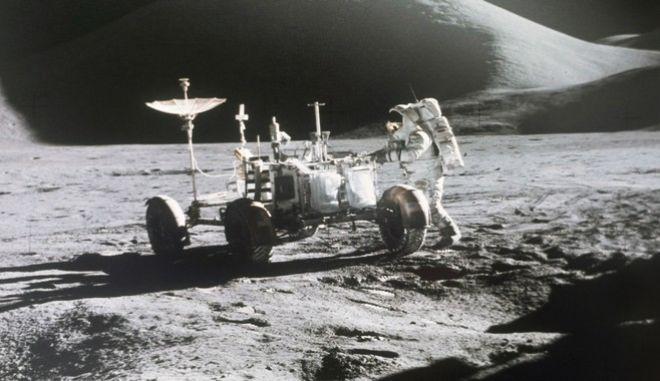Εικόνα από την αποστολή του Apollo 15 στη Σελήνη το 1971