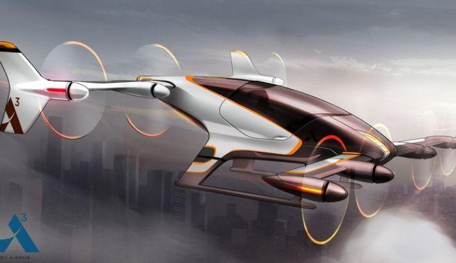 Μονοθέσιο drone ετοιμάζεται για πτήση