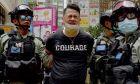 Σύλληψη στο Χονγκ Κονγκ