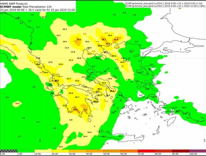 Καιρός: Νέο έκτακτο δελτίο επιδείνωσης - Βροχές και καταιγίδες μέχρι και το Σάββατο