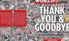 """Το κλείσιμο της """"News of the World"""" πριν από εννέα χρόνια είχε δώσει τα πρώτα σημάδια για το τέλος εποχής των έντυπων Μέσων της News Corp"""