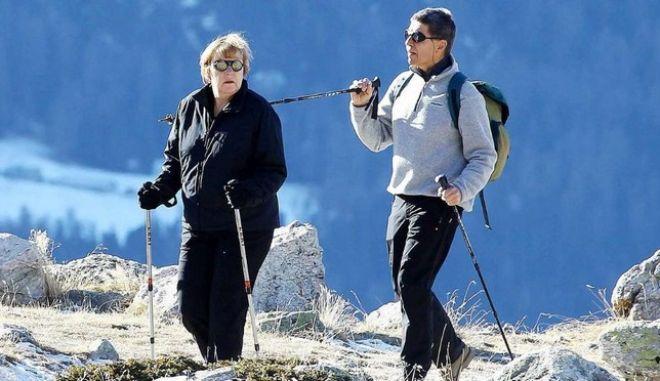 Στις Ελβετικές Άλπεις για διακοπές η Άγκελα Μέρκελ