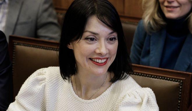 Η βουλευτής Νάντια Γιαννακοπούλου