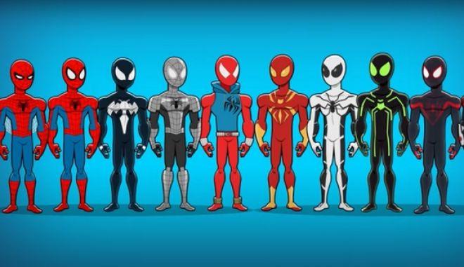Spider-man: Η νέα γκρίζα στολή του θυμίζει εξωγήινο και διχάζει τους fans