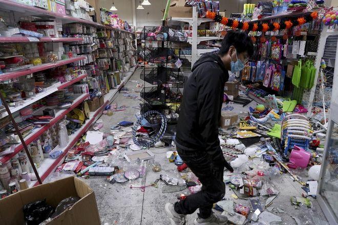 Οι χειρότερες ταραχές των τελευταίων δεκαετιών στη Χιλή