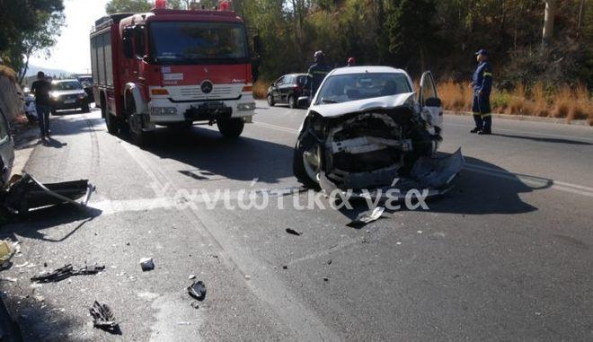 Κρήτη: Νεκρή σε τροχαίο 52χρονη - Δυο άτομα στο νοσοκομείο