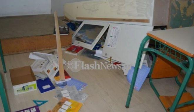 Χανιά: Βανδάλισαν σχολείο όπου διδάσκεται η αλβανική γλώσσα