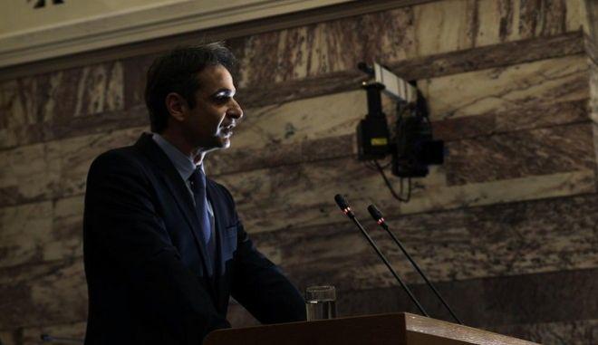 ΝΔ: Αντιπολίτευση με κυβερνητικές προτάσεις από τον Μητσοτάκη