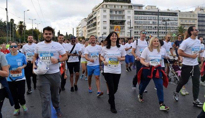 Το Υπουργείο Τουρισμού και ο ΕΟΤ έτρεξαν στον 35ο Μαραθώνιο της Αθήνας