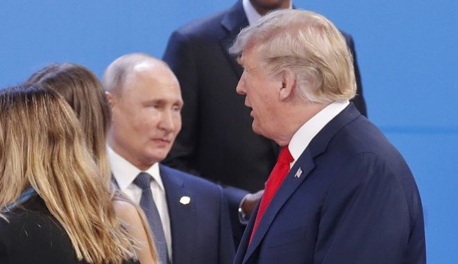 Πούτιν και Τραμπ στη Σύνοδο της G20