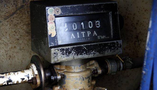 Μετρητής για πετρέλαιο θέρμανσης(EUROKINISSI/ΓΙΩΡΓΟΣ ΚΟΝΤΑΡΙΝΗΣ)
