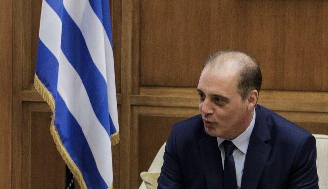 """Ο πρόεδρος της """"Ελληνικής Λύσης"""" Κυριάκος Βελόπουλος"""