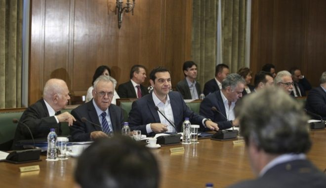 Ministers` cabinet meeting, in the Hellenic Paliament, in Athens, on June 21, 2017 / Y o,   ,  21 , 2017
