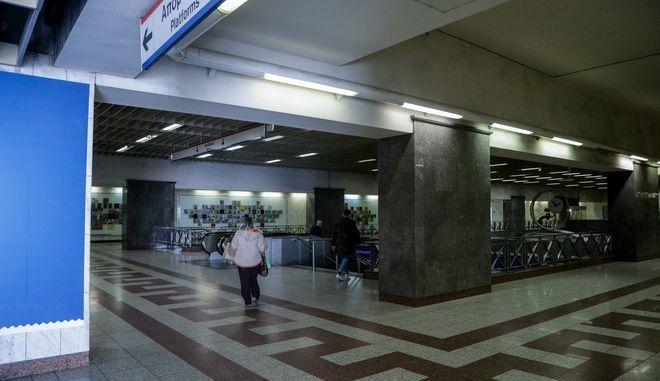 Περιορισμένη η κίνηση στο μετρό της Αθήνας
