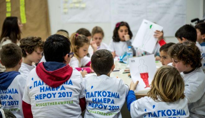 """Μαζί για το Νερό: Γιατί τα παιδιά στο Μοναστηράκι Βόνιτσας είναι οι """"ήρωες"""" αυτού του Παγκόσμιου Project"""