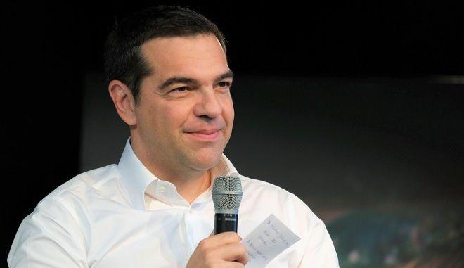 Ο πρόεδρος του ΣΥΡΙΖΑ Αλέξης Τσίπρας