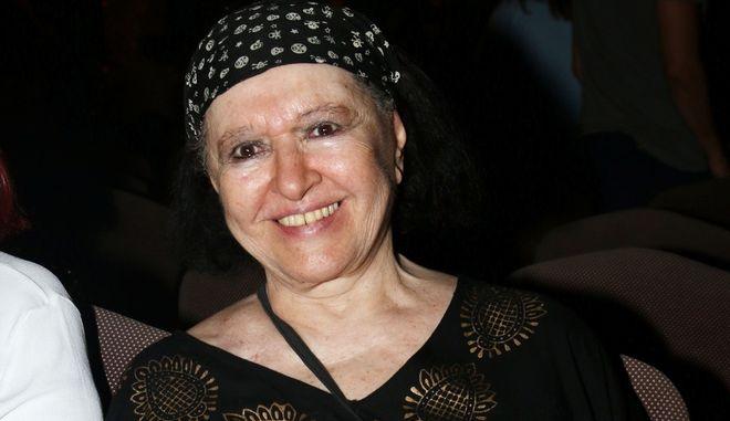 Η ηθοποιός Μάρθα Καραγιάννη