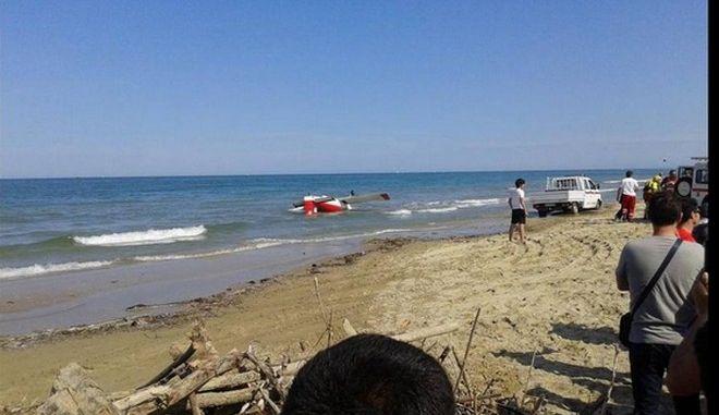 Ιταλία: Ένας νεκρός σε σύγκρουση αεροσκαφών ακροβατικού σμήνους