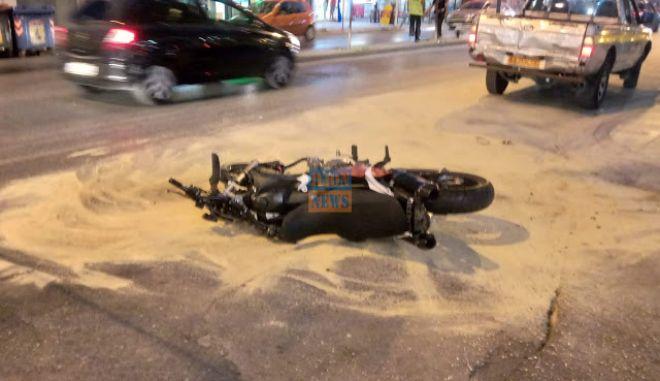 Περιστέρι: Τροχαίο με σοβαρό τραυματισμό στην Ανθούπολη