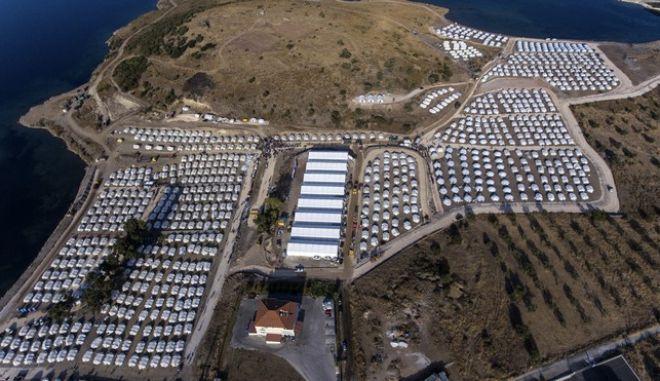 Η νέα δομή Καρά Τεπέ στη Μυτιλήνη