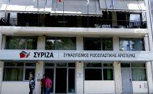 Τα γραφεία του ΣΥΡΙΖΑ στην οδό Κουμουνδούρου