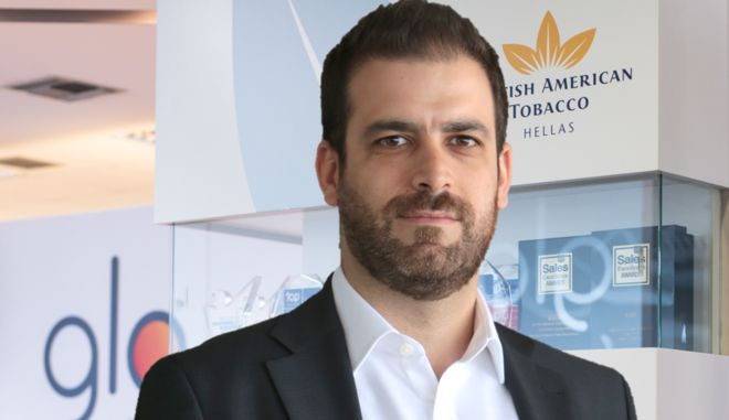 Ο Πρόεδρος και Διευθύνων Σύμβουλος της British American Tobacco Hellas, κ. Θάνος Αυγερινός.
