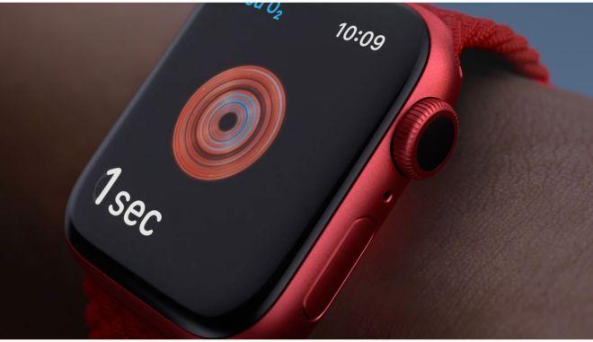 Η Apple ανακοίνωσε το Apple Watch Series 6 με μετρήσεις του οξυγόνου του αίματος