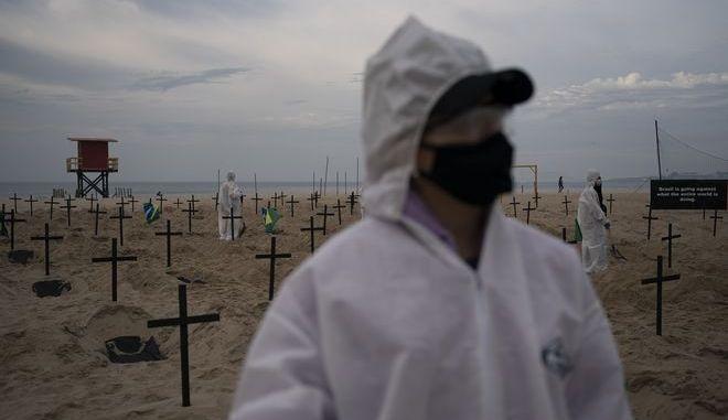 Αυξάνονται τα θύματα κορονοϊού στη Βραζιλία