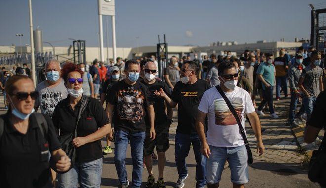 Διαμαρτυρία στην Ισπανία