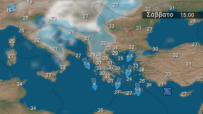 Καιρός: Ο υδράργυρος θα φτάσει τους 38 βαθμούς