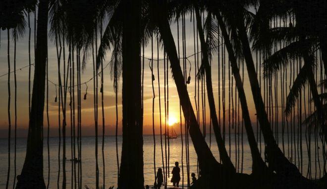Ηλιοβασίλεμα στις Φιλιππίνες