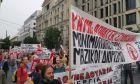 Χιλιάδες κόσμου στις απεργιακές συγκεντρώσεις στην Αθήνα