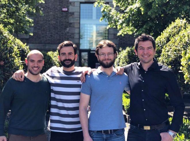 Η ομάδα της Volograms Ltd. μίας spin-off start-up εταιρίας