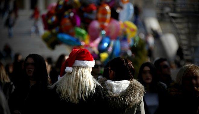 Χριστούγεννα στην Αθήνα - Φωτογραφία αρχείου