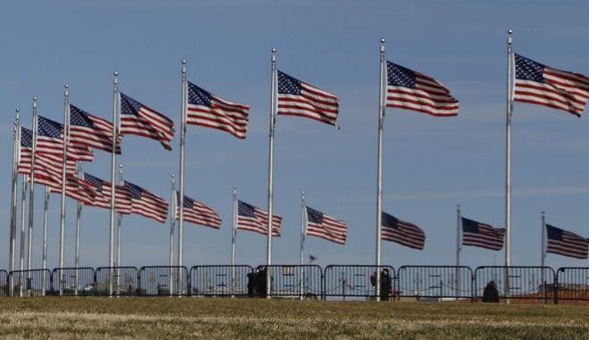 Σημαίες ΗΠΑ (φωτό αρχείου)