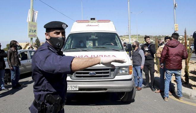 Ασθενοφόρο στην Ιορδανία