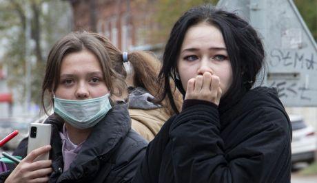 Φοιτήτριες του Πανεπιστημίου Περμ στη Ρωσία