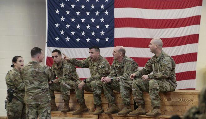 Μέλη του αμερικανικού στρατού