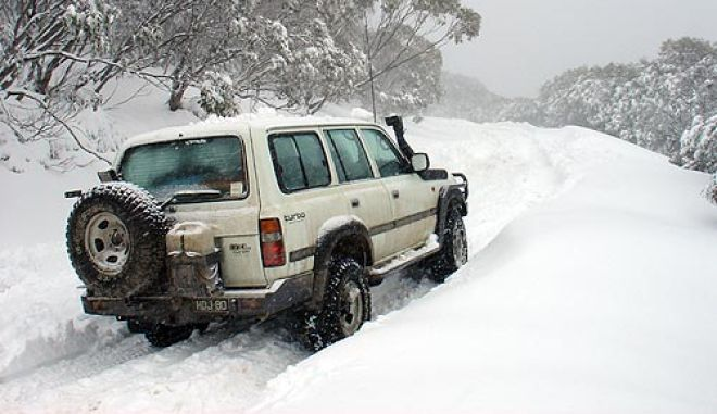 Μικρά μυστικά για την οδήγηση σε χιόνι και πάγο