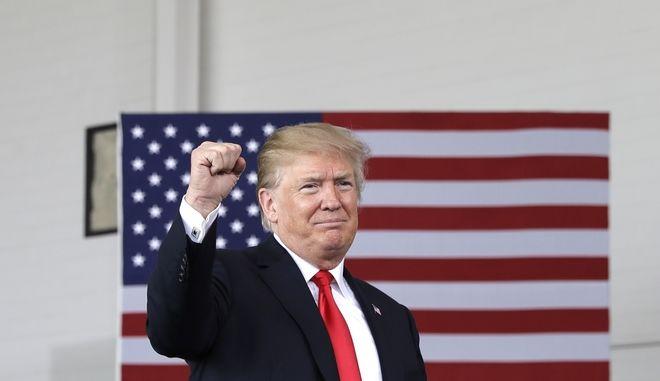 Ντόναλντ Τραμπ (AP Photo/Evan Vucci)