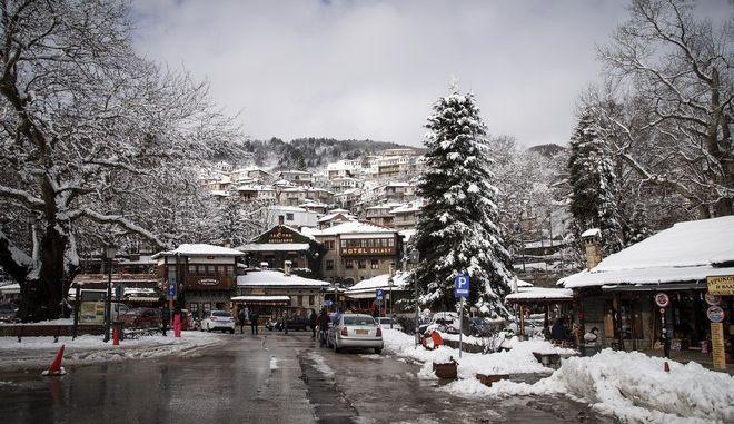 Χιόνια στο Μέτσοβο
