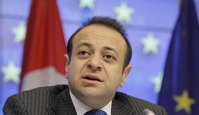 Ο πρώην υπουργός Ευρωπαϊκών Υποθέσεων της Τουρκίας και στενός συνεργάτης του προέδρου Ερντογάν, Εγκεμέν Μπαγίς