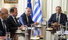 Ευρεία κυβερνητική σύσκεψη υπό τον υπουργό Επικρατείας Γιώργο Γεραπετρίτη, με στόχο να δρομολογηθεί οριστική λύση στο πρόβλημα που προέκυψε με την ακτοπλοϊκή σύνδεση στη Σαμοθράκη.