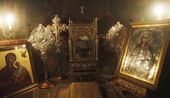 Φωτογραφία αρχείου από τον Ιερό Ναό της Αγίας Ειρήνης